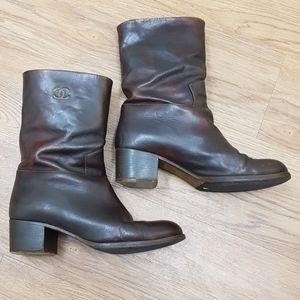 Beautiful Chanel boots